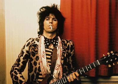 England Photograph - Photo Of Rolling Stones And Keith by Graham Wiltshire