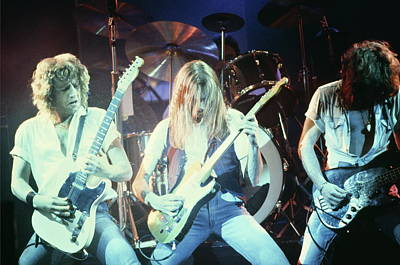 Photograph - Photo Of Status Quo And Alan Lancaster by Mike Prior