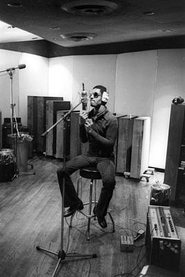 Photograph - Photo Of Stevie Wonder by Michael Ochs Archives