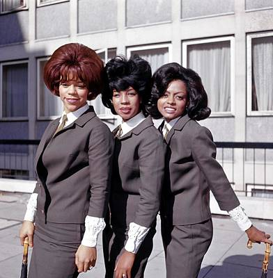 Manchester Wall Art - Photograph - Photo Of Supremes And Florence Ballard by Ca
