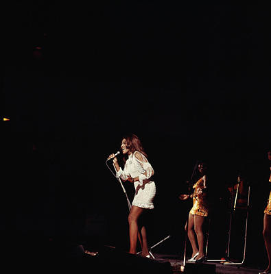 Photograph - Photo Of Tina Turner And Ike & Tina by David Redfern