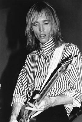 Photograph - Photo Of Tom Petty by Richard Mccaffrey