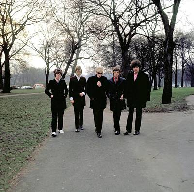 Hyde Park Wall Art - Photograph - Photo Of Trevor Burton And Move And Roy by Ca