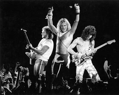 Photograph - Photo Of Van Halen by Larry Hulst