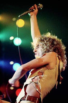 Photograph - Photo Of Who And Roger Daltrey by Andrew Putler