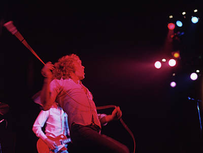 Photograph - Photo Of Who And Roger Daltrey by David Redfern
