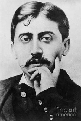 Photograph - Photograph Of Marcel Proust  by French School