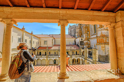Photograph - Photographer At Tomar Castle by Benny Marty