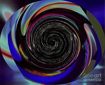 Celebrity Pop Art Potraits - Photoimpressed Whirl 1 by Catherine Lott