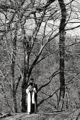 Photograph - Photoshooting In The Forest by Michael Nguyen