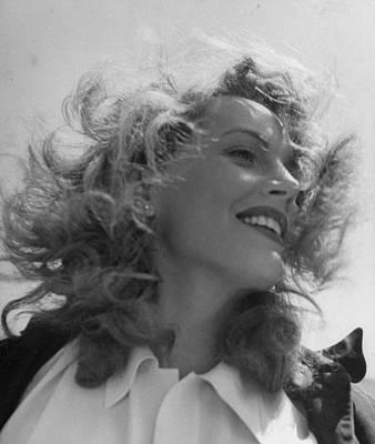 Photograph - Phyllis Calvert by Loomis Dean