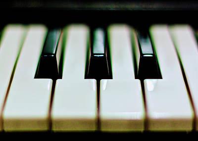 Piano Wall Art - Photograph - Piano Keys by Calvert Byam