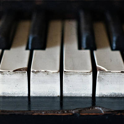 Piano Wall Art - Photograph - Piano Keys by Julie Rideout