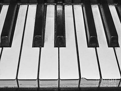 Photograph - Piano Keys by Phil Perkins