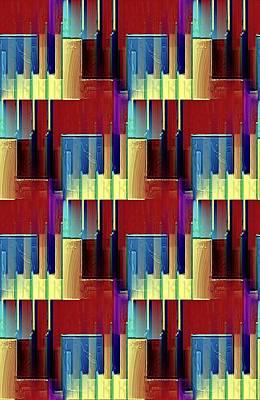 Digital Art - Piano Player by David Manlove
