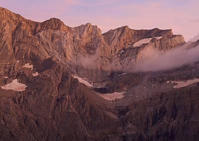 Photograph - Pic De Marbore Alpen Glow by Stephen Taylor