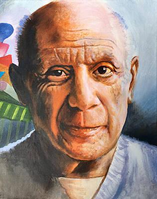 Painting - Picasso by Robert Korhonen