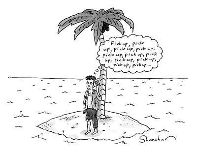 Drawing - Pick Up by Danny Shanahan