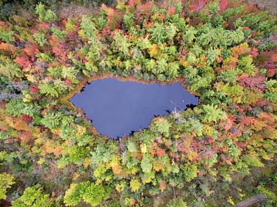 Photograph - Pickeral Lake 10121702 by Rick Veldman