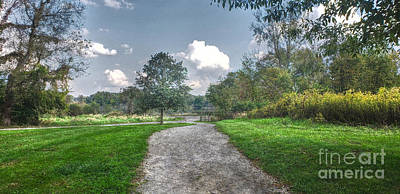 Photograph - Pickerington Ponds Walkway by Jeremy Lankford