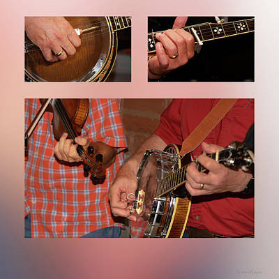 Photograph - Pickin' And Grinin' by Karen Rispin