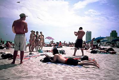 Photograph - Picking Up Chicks At South Beach by Jeffrey PERKINS