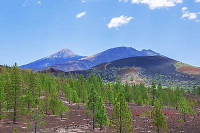 Photograph - Pico Del Teide In The Teide National Park by Sun Travels