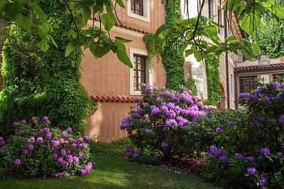 Photograph - Picturesque Corner Of Spring Kolowrat Garden by Jenny Rainbow