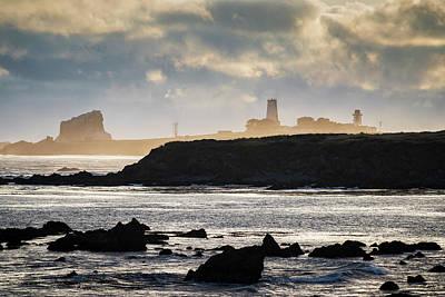 Photograph - Piedras Blancas Lighthouse San Simeon Ca by David Gordon