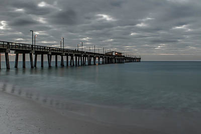 Photograph - Pier Blue Green by Davin McLaird