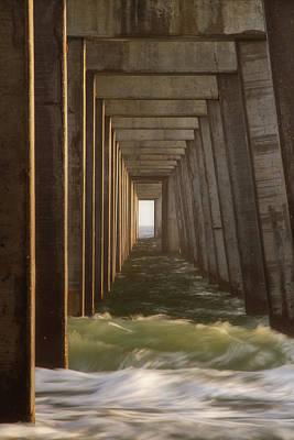 Photograph - Pier Chop by Davin McLaird