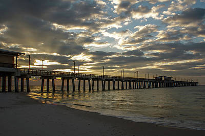 Photograph - Pier Dawn by Davin McLaird