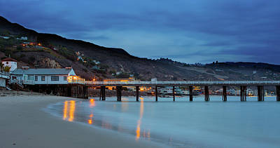 Photograph - Pier House Malibu by John Rodrigues