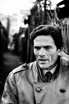 Photograph - Pier Paolo Pasolini by Carlo Bavagnoli