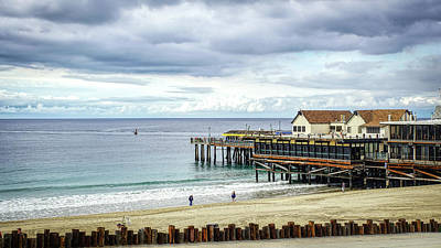 Photograph - Pier Punch by Michael Hope