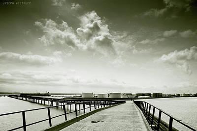 Photograph - Pier-shaped by Joseph Westrupp