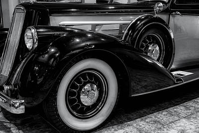 Photograph - Pierce Arrow Circa. 1937 by Michael Hope