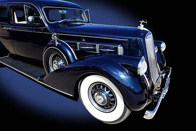 Photograph - Pierce Arrow Model 1603 Limousine by Debi Dalio