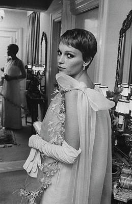 Photograph - Pierre Cardin Misc.mia Farrow by Bill Eppridge