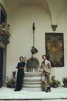 Photograph - Pierro And Ludovico Antinori by Slim Aarons