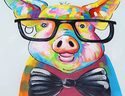 Photograph - Pig Of Color by Rob Hans