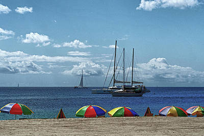Photograph - Pigeon Island Beach On St. Lucia by Bill Swartwout Fine Art Photography