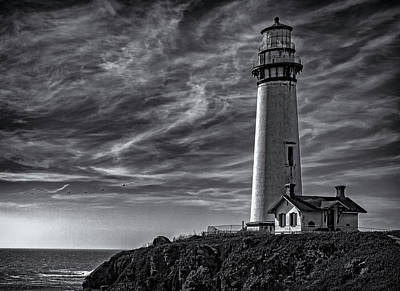 Photograph - Pigeon Point Light Station by John A Rodriguez