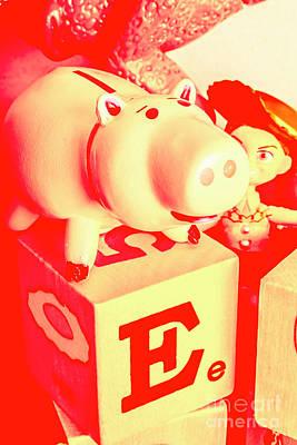 Piggy Bank Wall Art - Photograph - Piggybank Poster by Jorgo Photography - Wall Art Gallery