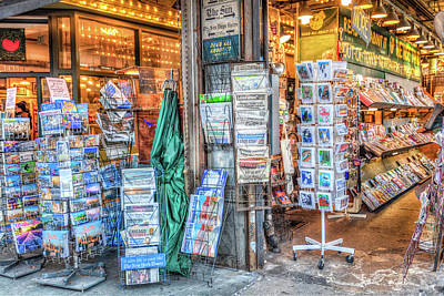 Photograph - Pike Place Magazine Rack by Spencer McDonald