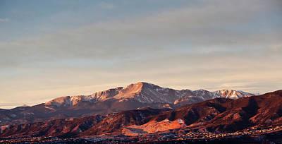 Photograph - Pikes Peak Sunrise by Erick4x4
