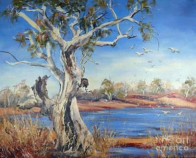 Painting - Pilbara, Western Australia by Ryn Shell