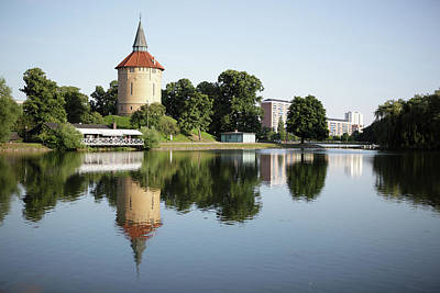 Pildammsparken In Malmo Art Print by Secablue