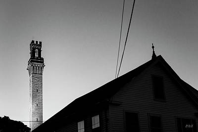 Photograph - Pilgrim Monument Provincetown II Bw by David Gordon