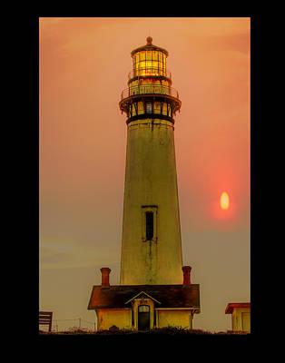 Katharine Hepburn - Pillar Point Lighthouse by Patricia Dennis